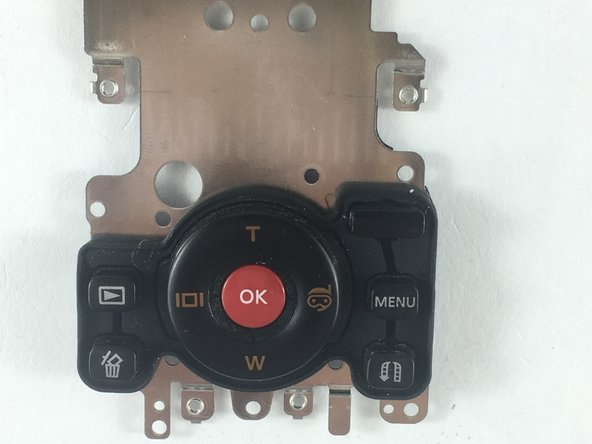 Samsung HMX-W200 Control Buttons Replacement