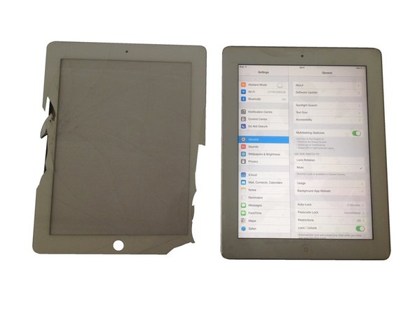 iPad 2 Touch Screen Replacement Video tutorial