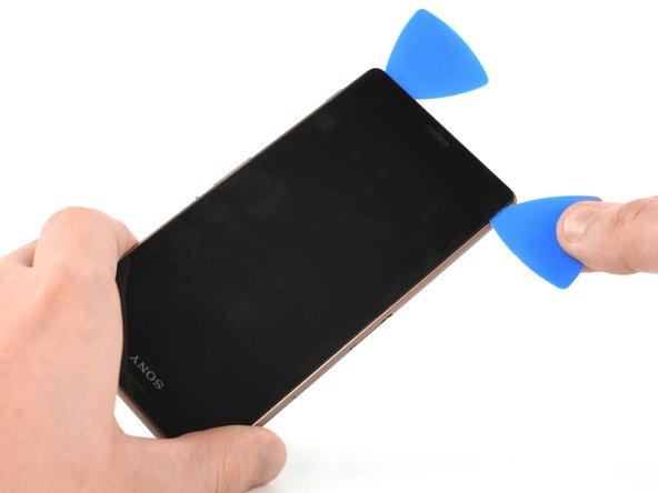 Sony Xperia Z3 液晶パネル交換