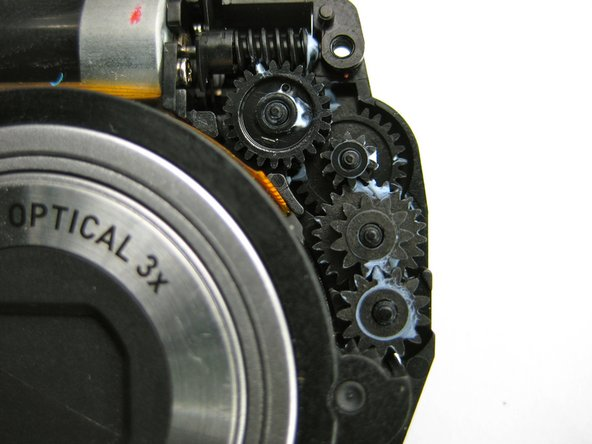 """Casio Exilim EX-Z70 Lens Gear Cleaning """"Lens Error"""" Replacement"""
