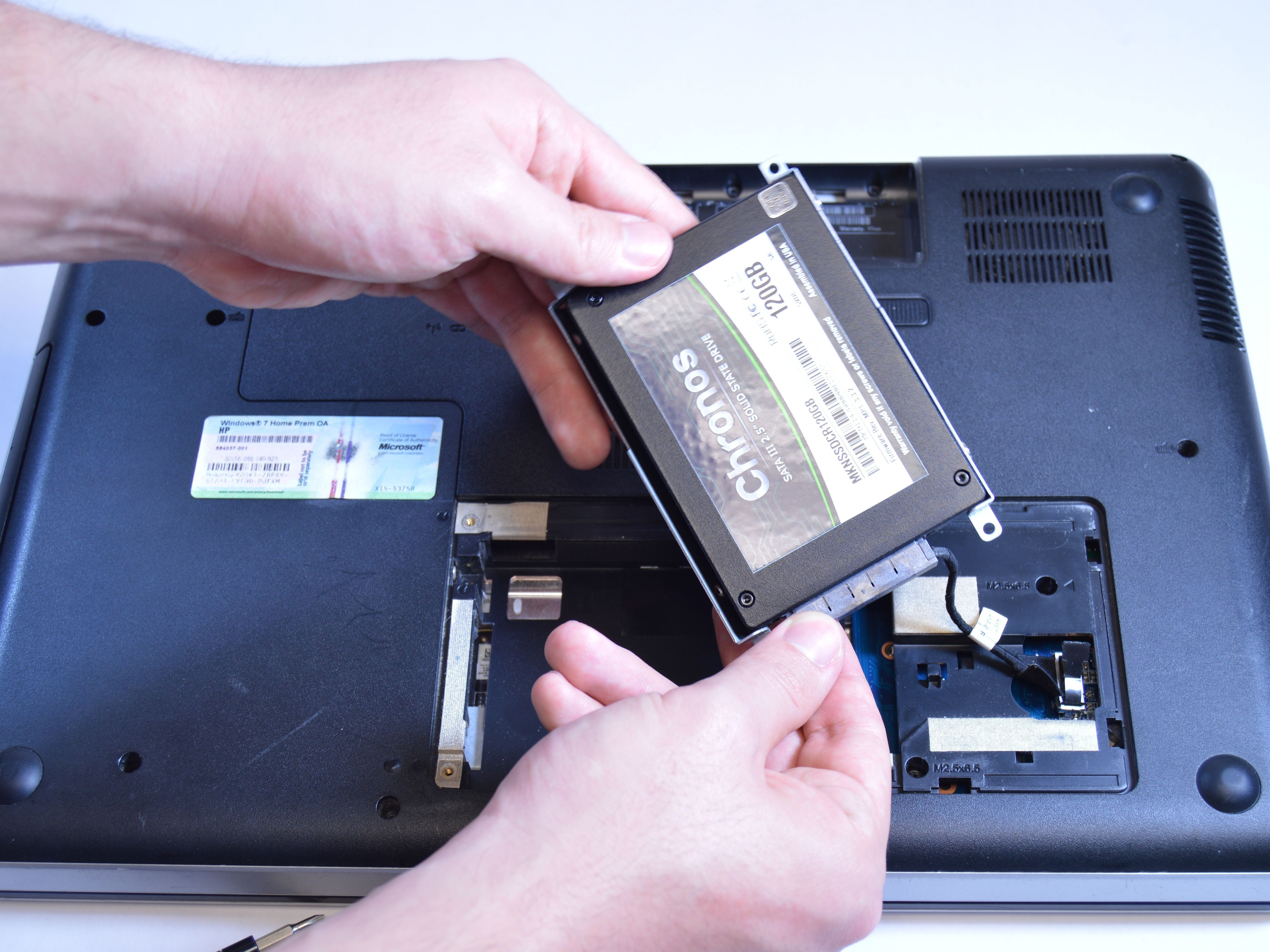 hp g62 223cl hard drive replacement ifixit repair guide