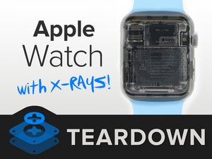 Apple Watch X-ray Teardown