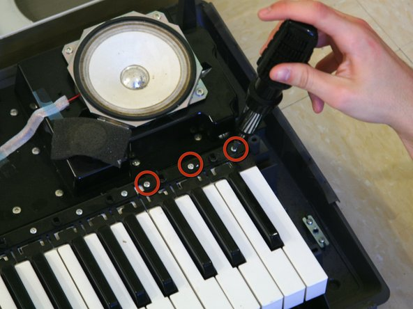 Yamaha YPG-225 Keys Replacement