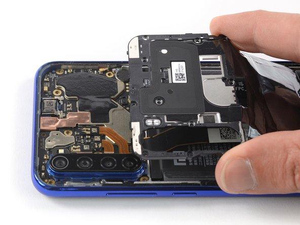 Extracción de la tapa trasera del Xiaomi Redmi Note 8T
