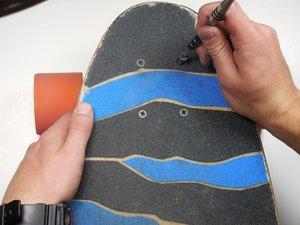 Longboard or Skateboard Truck Maintenance