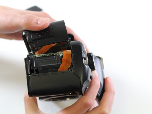 Canon EOS Rebel XSi Back Panel Replacement