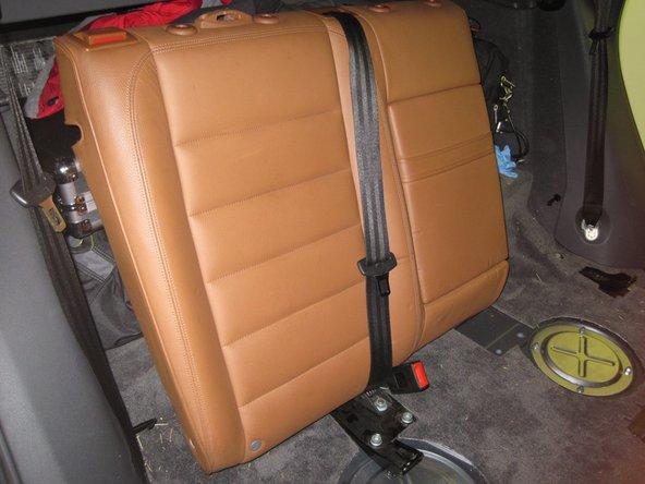 Remove the right seatback.