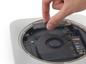 Reemplazo de SSD en Mac mini Late 2014