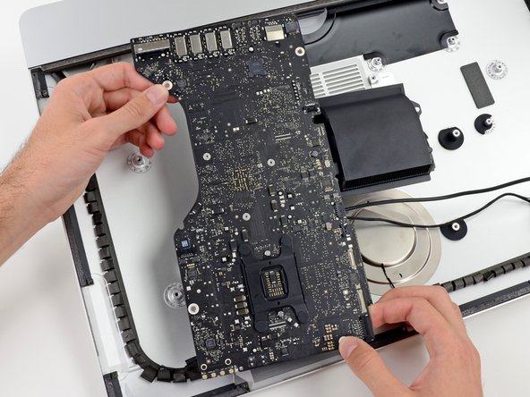 The next logical step was to remove the iMac's logic board.