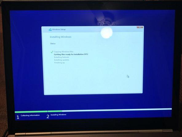 Let Windows 10 install
