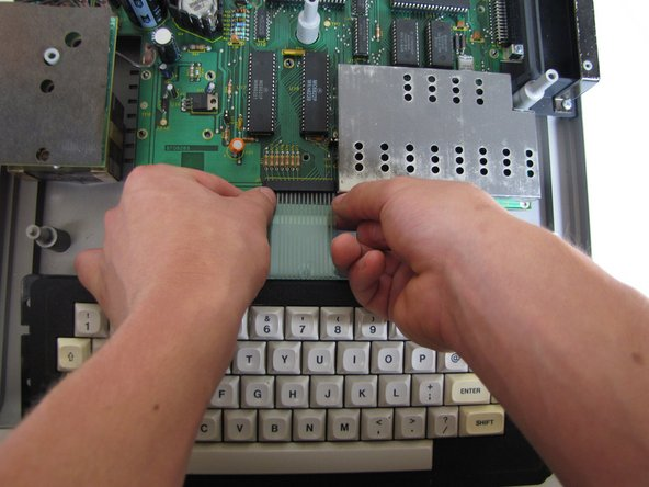 TRS-80 Color Computer Keyboard Replacement