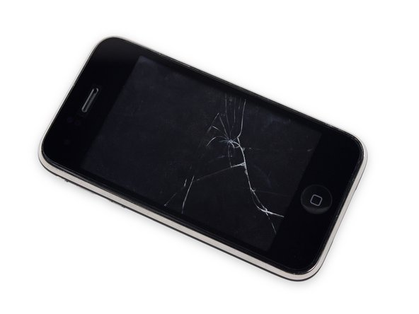 iPhone 3G Broken Glass Prerequisite Replacement