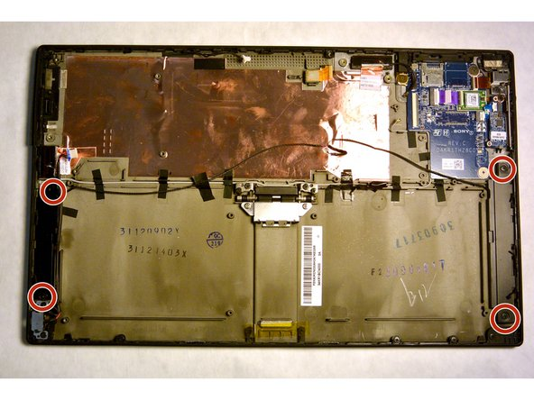 Sony Vaio Tap 11 Internal Speakers Replacement