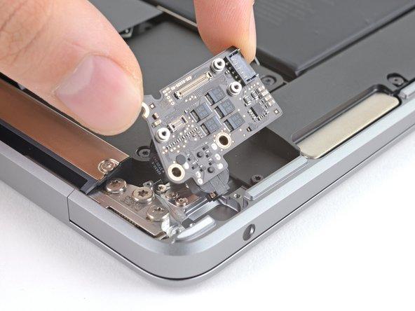 MacBook Air 13 Zoll Ende 2020 Audioplatine tauschen
