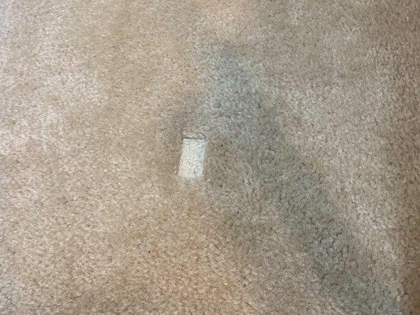 How to Fix a Carpet Dent