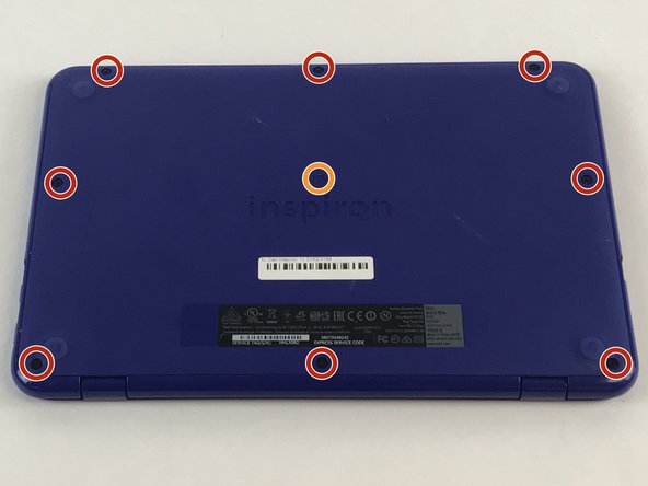Dell Inspiron 11-3164 Battery Replacement
