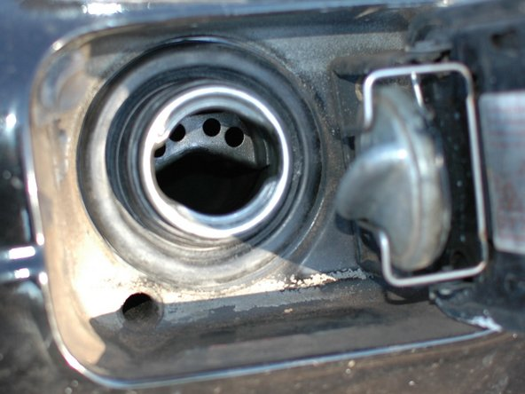 Mercedes W123 Fuel Filler Neck Seal Replacement