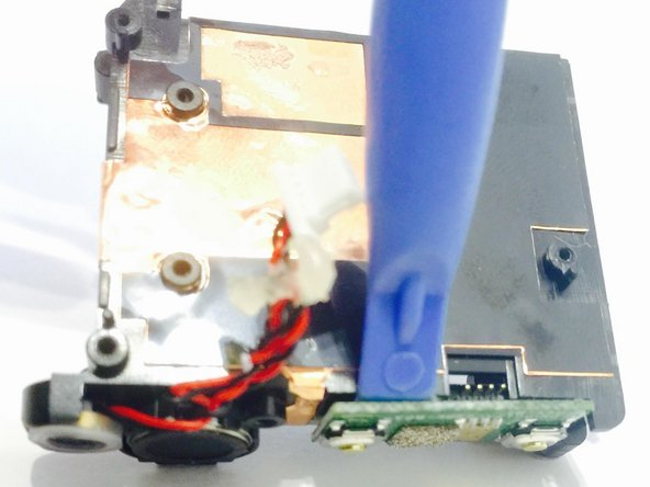JVC Adixxion GC-XA1BU Power & Record Buttons Replacement