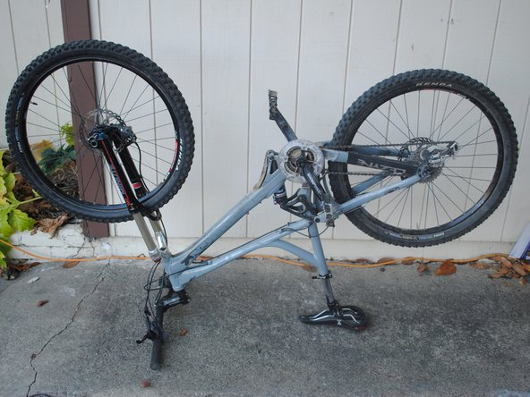 Giant Reign 2 Rear Shock Replacement