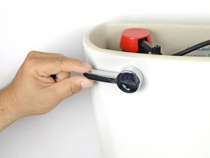 Draining a Toilet Tank