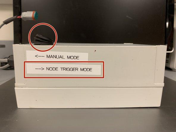 "To enable autonomous mode, flip switch to ""Node Trigger Mode"""