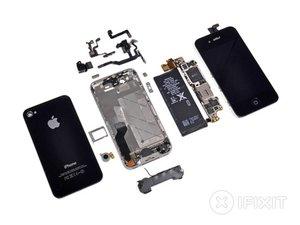 Vue éclatée de l'iPhone 4S