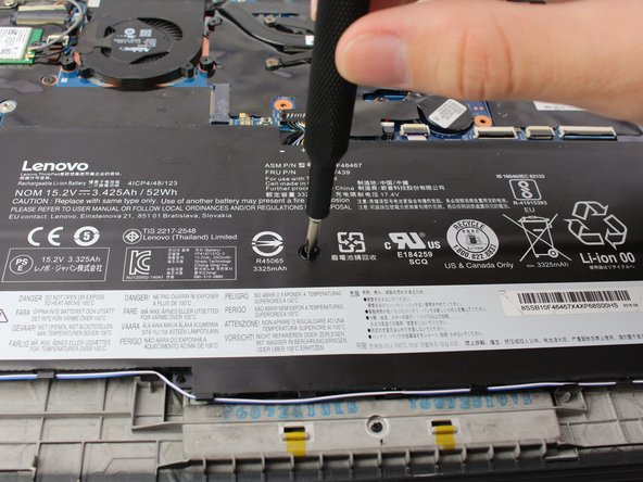 Lenovo Thinkpad X1 Carbon 4th Gen Lithium Battery Replacement
