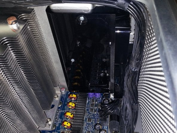 The problem often is, that the slide-holder of the fan-assembly is quite stuck in the black plastic on the bottom of the case; it helps a lot to use a flat metal stick to push it up and out