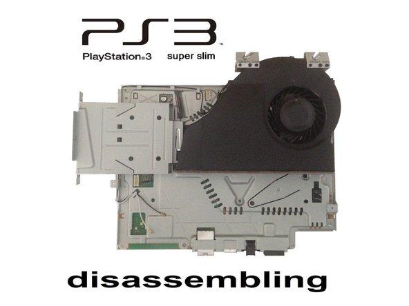 PlayStation 3 Super Slim Teardown - Video tutorial