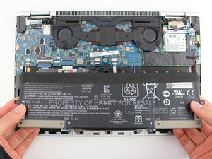 Remplacement de la batterie du HP EliteBook x360 1030 G3