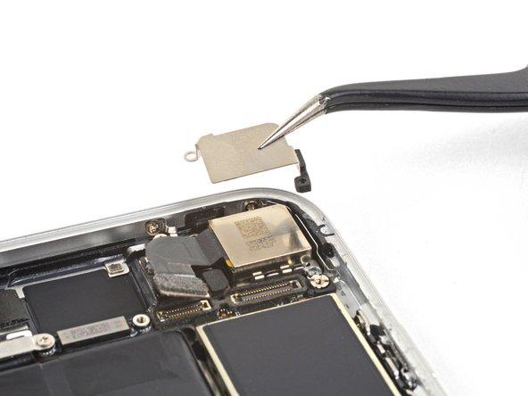 Remove the rear-facing camera bracket.