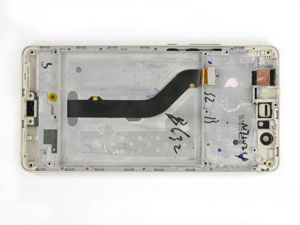 Huawei P9 Lite Display mit Rahmen austauschen