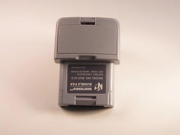 Nintendo 64  Rumble Pak Battery Replacement