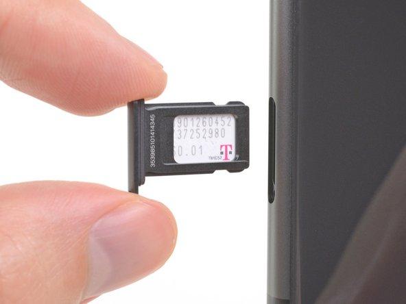 Remplacement de la carte SIM de l'iPhone 11
