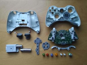 Xbox 360 Wireless Controller Teardown