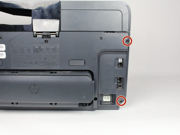 Turn off the printer and remove the power cable.