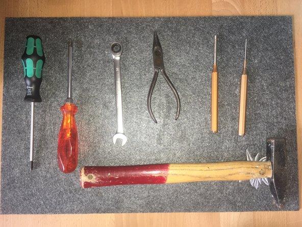 Prepare your Tools.