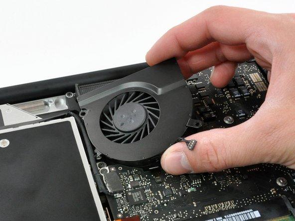 """Remplacement du ventilateur droit des MacBook Pro 15"""" Unibody fin 2008 et début 2009"""