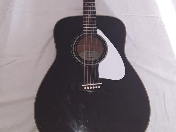 Yamaha FG-425 Guitar String Replacement