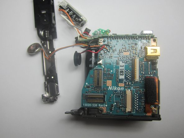Nikon CoolPix S600 Motherboard Assembly Replacement