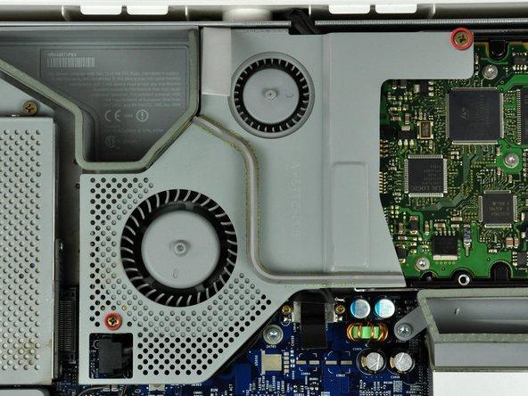 """Remplacement du cache du ventilateur de l'iMac G5 17"""" modèle A1058"""