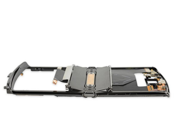 Here's something you don't usually see on a smartphone teardown: mechanical parts. Big ones!