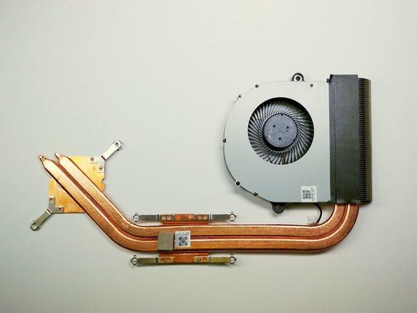 Acer Aspire V5-591G-75KE Fan and Heatsink Replacement
