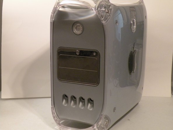 The Power Mac G4 MDD: the last, and the fastest G4-based Mac.  This computer boasted up to a Dual 1.42GHz PowerPC G4 CPU (though I have a single 1.25GHz).