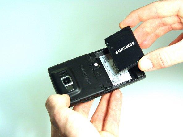 Samsung Blackjack Battery Replacement