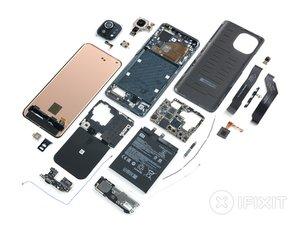 Vue éclatée du Xiaomi Mi 11