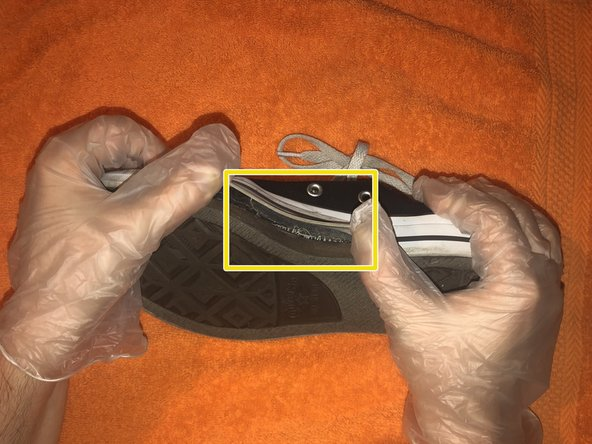 How to Repair the Sole of a Converse Sneaker