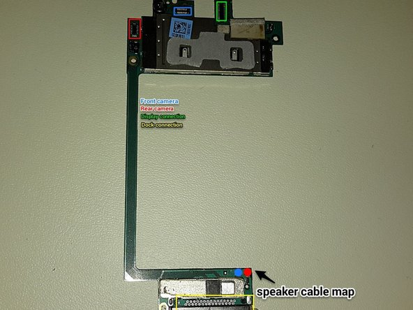 iPod Touch 4th Generation speaker soldering