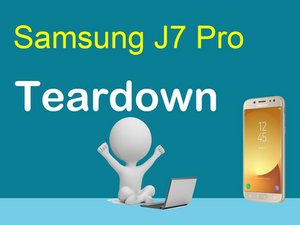 Samsung J7 Pro Teardown Video Only