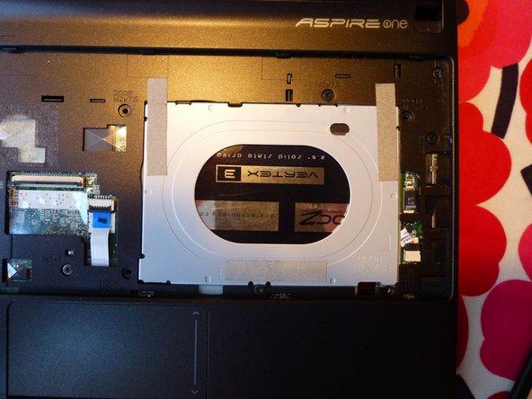 Acer Aspire One D257 Festplatten Austausch